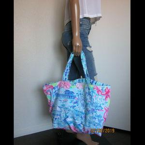 Lilly Pulitzer Destination NAPLES Terry Beach Bag